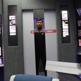 Kapitán přijíždí