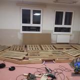 Konstrukce zadního stupínku | Construction of the platform