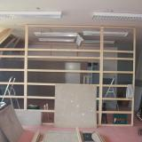 Konstrukce rozebíratelné stěny | Constructing the removable wall