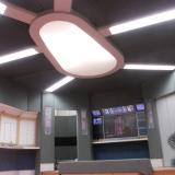 První komplet rozsvícení stropu | First view of the ceiling light