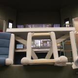 Velící sedačky v různých stupních výroby | Command chairs at different stages of readiness