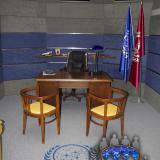 Finální podoba pracovny | Final look of the ready room